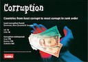 Corruption in the  world, November 2009