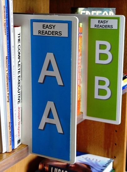 Easy Easy Shelf Markers All Your Library Signange