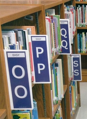 Easy - Easy Shelf Markers | All your Library Signange needs ...