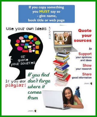 Plagiarism Handling Plagiarism Posters All Your