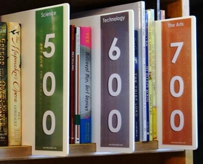 Non Fiction Shelf Markers