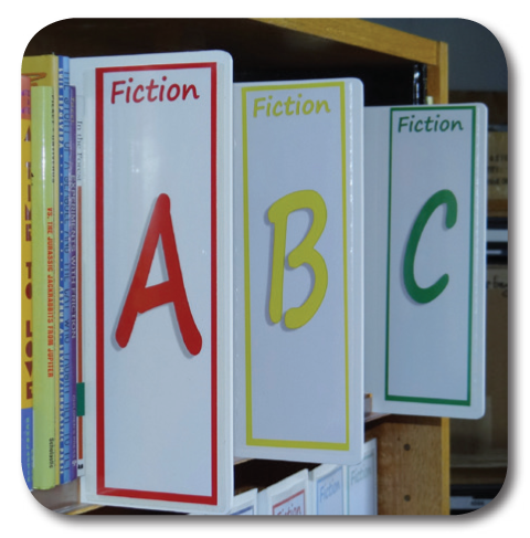 Fiction Shelf Signs - Fiction Shelf Markers | All your Library ...