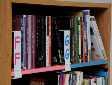 Library Shelf Dividers